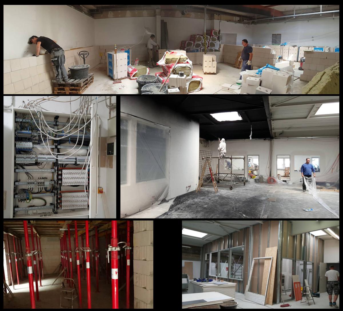 Studio Aufbau